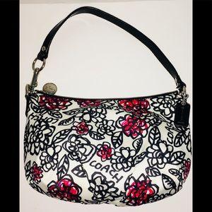 Coach poppy flower bag tods coach poppy graffiti flower daisy handbag mightylinksfo